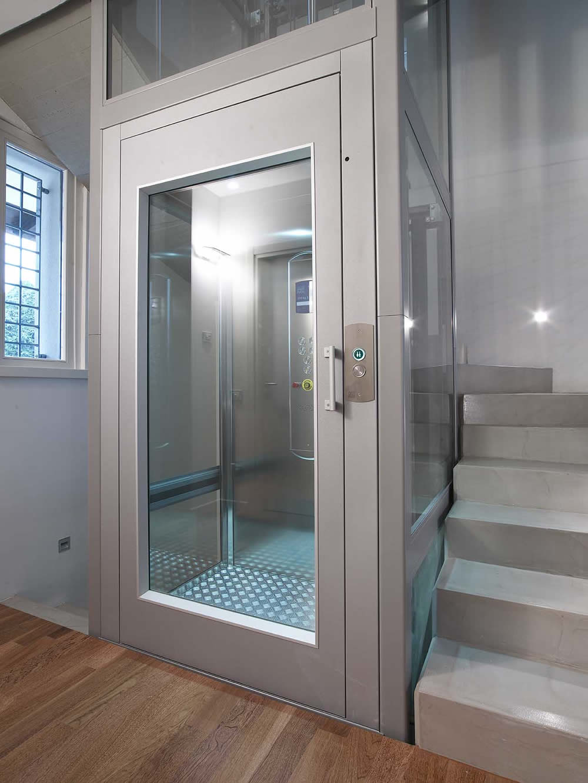 Gierre lift piattaforma elevatrice assago for Design della cabina e planimetrie